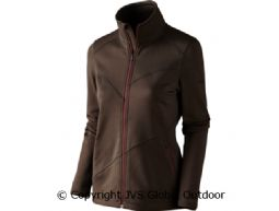 Disa Lady Fleecejacke Demitasse brown melange
