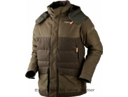 Expedition Daunenjacke  Hunting green/Shadow brown