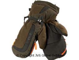 Expedition Handschuhe  Hunting green/Shadow brown