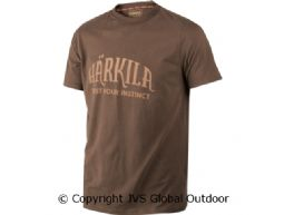 Härkila T-Shirt Slate brown