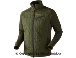 Isolierte Hjartvar Hybrid Jacke  Dark rifle green/Rifle green melange