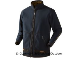 Kamko sporting fleecejacke  Dark navy blue/Highland green