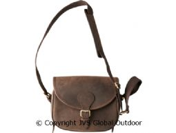 Patronentasche aus Leder  Shadow brown