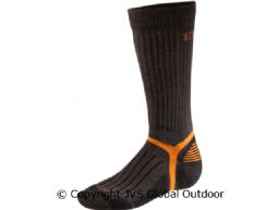 Mountain Socken lang  Dark brown