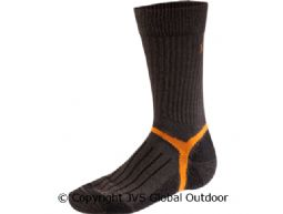 Mountain Socken kurz  Dark brown