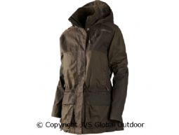 Mountain Trek Lady Jacke  Hunting green/Shadow brown