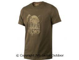 Odin Wild Boar T-shirt  Willow Green