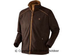 Sandhem Fleecejacke Dark port melange