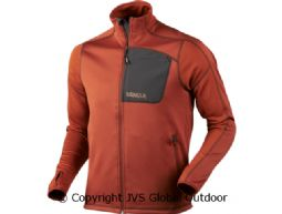Svarin Fleecejacke  Burnt orange