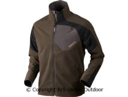 Thor Fleecejacke  Shadow brown/Black