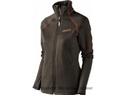 Thyra Lady Fleecejacke  Shadow brown