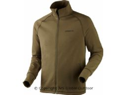 Triq Full Zip Fleecejacke  Dusty olive melange
