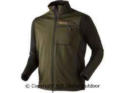 Vestmar Hybrid Fleecejacke Rifle green melange